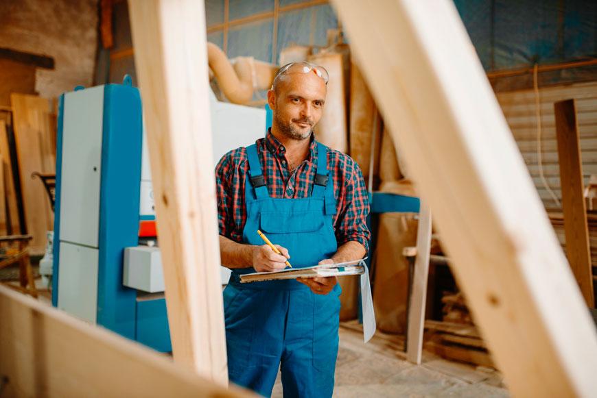 Métier de charpentier charpente